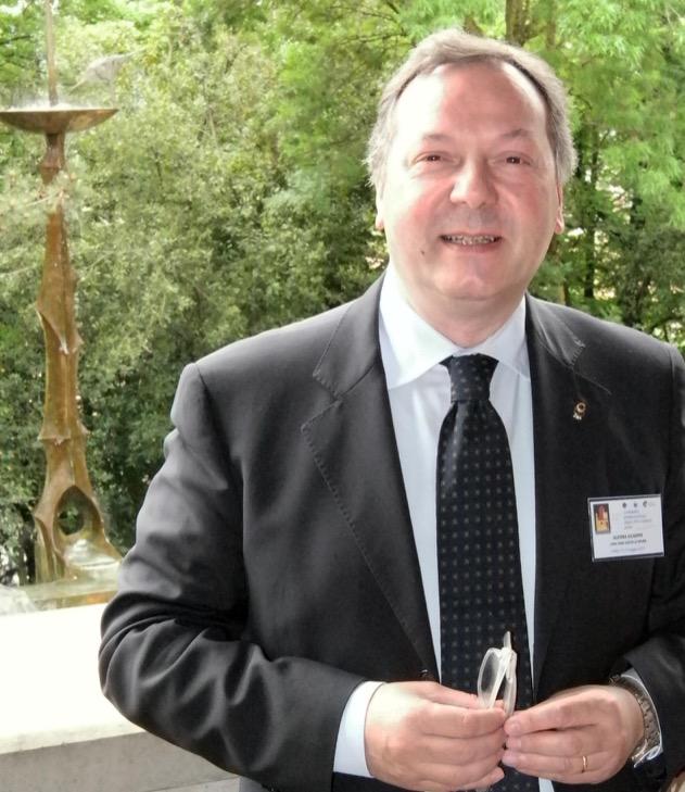 dott. prof. Giuseppe Guerra Presidente internazionale Associazione Lions Città Murate